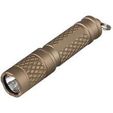 AceBeam M20 Keychain Light, Tan, 150 Max Lumens