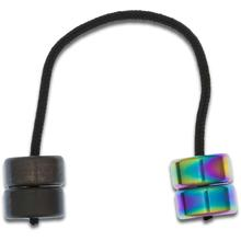 Aroundsquare AO2 Nightfall Hydra Titanium Begleri, Sunset Fade Anodized and Black Shinobi PVD Mix
