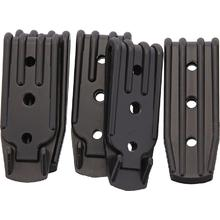 Armory Plastics Three Hole Belt Clip, Set of 5
