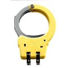 ASP Identifier Hinge Handcuffs, Steel, Yellow