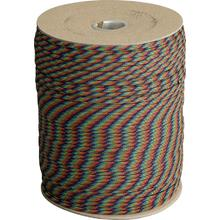550 Paracord, Dark Stripes, 1000 Foot Spool