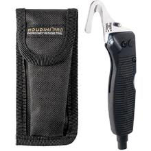 Benchmade 30210 Houdini Pro Emergency Rescue Tool with LED Light and Window Breaker, Black