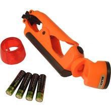Blackfire Clamplight Emergency LED Flashlight, Orange, 100 Lumens (BBM889E)