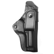 BLACKHAWK! Leather Inside-the-Pant Holster, RH, Black, Fits Glock 17/19/22