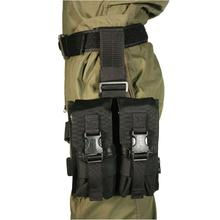 BLACKHAWK! Omega Elite Enhanced M16 Drop-Leg Mag Pouch, Black