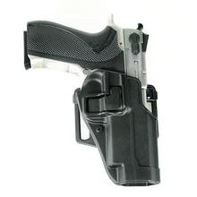 BLACKHAWK! CF Holster w/BL & Paddle, Serpa, RH,  Black, 5900/4000