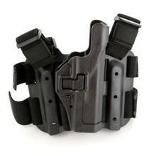 BLACKHAWK! Tactical Serpa Holster, RH, Black, Fits Glock 17/19/22/31