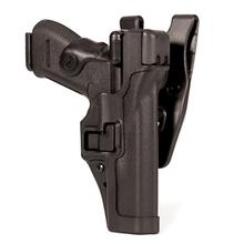 BLACKHAWK! Level 3 Serpa Duty Holster, RH,  S&W MP 9/40, Black