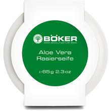 Boker Aloe Vera Shaving Soap in Porcelain Dish