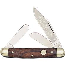 Boker Stockman Rosewood Handles 4 inch Closed (117474)
