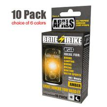 Brite-Strike APALS All Purpose Adhesive Light Strips, Red (APALS10-RED)