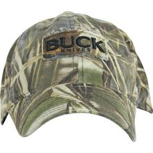 Buck 89052 Adjustable Logo Cap, Max-4 Advantage Camo
