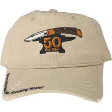 Buck 89083 Adjustable 110 Folding Hunter 50th Anniversary Cap