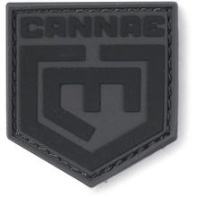 Cannae Pro Gear Logo Velcro Patch, Black, Large