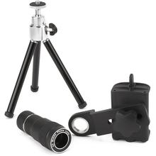 Carson Optical IC-918 HookUpz Smartphone Telephoto Lens, Adapter and Tripod