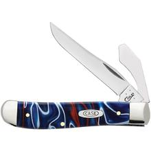 Case Kirinite Patriotic Mini Trapper 3.5 inch Closed with Cap Lifter (10207 SS)