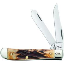 Case Prime Stag Mini Trapper 3-1/2 inch Closed (5207 SS)