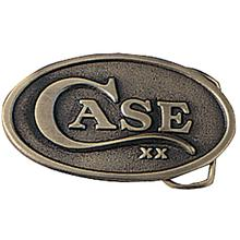 Case Brass Oval Belt Buckle 934
