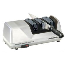 Chef's Choice Professional Sharpening Station Brushed Metal Case Electric Knife Sharpener