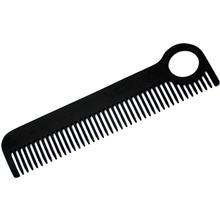 Chicago Comb Model 1 Comb, Black Stainless Steel, 5.5 inch Overall