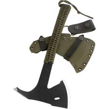 Condor Tool & Knife CTK1809-3.6 Sentinel Axe 3.625 inch Carbon Steel Head, Army Green Paracord Wrapped Handle, Kydex Sheath