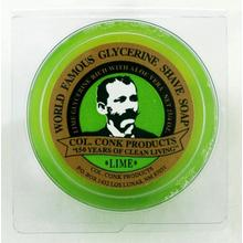 Colonel Conk #122 Regular Size Lime Shave Soap 2.25 oz.