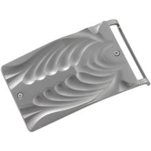 Columbia River 5280BELT Tighe Dye Belt Buckle, Aluminum