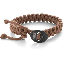 Columbia River 9350TL (Large) Jason Scarvalas Quick Release Paracord Bracelet, Tan