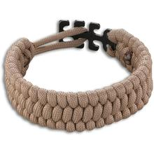 Columbia River 9400T Tom Stokes Adjustable Paracord Bracelet, Tan