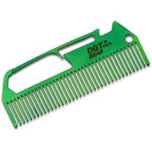 DGT Gear Titanium Comb-Biner One-Piece Multi-Tool, Green Anodized