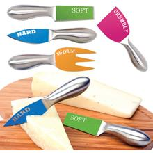 Decor Craft  inchCut The Cheese inch Set of 4 Cheese Knives
