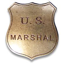 Denix Replica US Marshals Badge