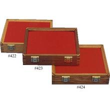Cherry Wood Display Case 9.5 inch x 12 inch x 2.875 inch