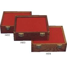 Cherry Wood Display Case 9.5 inch x 12 inch x 3.875 inch