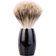DOVO Fine Pure Badger Shave Brush, Ebony Handle