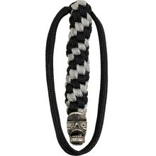 DPx Gear Mr. DP Pewter Bead with Black/Silver Lanyard (DPLSB006)