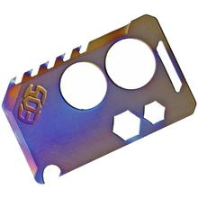 EOS Titanium Knife Card, Flamed