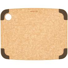 Epicurean Non-Slip Series Wood Fiber Cutting Board, Natural/Brown Corners, 11.5 inch x 9 inch