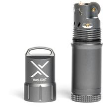Exotac titanLIGHT Refillable Lighter, Waterproof, Gunmetal