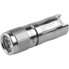 Factor Equipment FG001 Ghost 130 Rechargeable Micro LED Flashlight, Silver, 130 Max Lumens