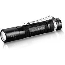 Fenix LD02 LED Flashlight, Black, 100 Max Lumens