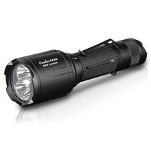 Fenix TK25 R&B Blue/Red Light LED Flashlight, Black, 1000 Max Lumens