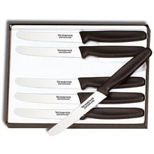 Victorinox Forschner by Victorinox 6-Piece Steak Knife Set, 4-1/4 inch Serrated Blades, Nylon Handles