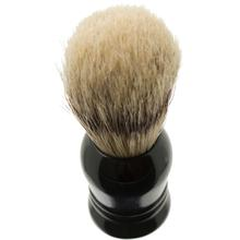 Garos Goods Boar's Hair Shaving Brush, Black, Ideal for Beginners