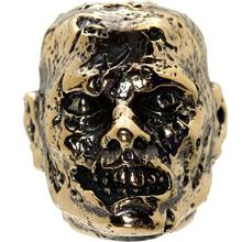 GD Skulls USA Bronze M2 Monsters of the World Zombie Bead