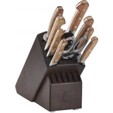 Zwilling J.A. Henckels Pro Holm 10 Piece Knife Block Set, Walnut Block