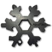 HexFlex Black Metric Adventure Tool 2.5 inch Overall, Black Oxide Stainless Steel