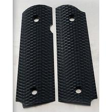 Rick Hinderer Knives Black G10 XM-1911 Handgun Grips Only