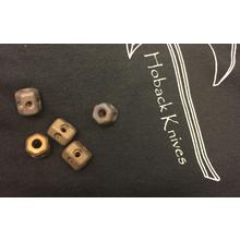 Jake Hoback Custom Bronze Titanium Lanyard Bead (Includes One Bead)