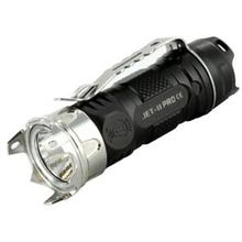 JETBeam Jet-II Pro LED Flashlight, Black Aluminum, 510 Max Lumens